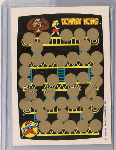 1982 Topps Donkey Kong Trading cards (2/2)
