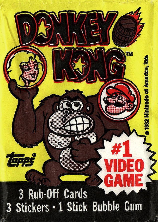 1982 Topps Donkey Kong Trading cards (1/2)
