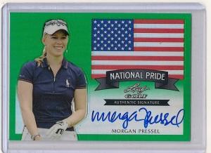 Morgan Pressel 2012 Leaf Golf