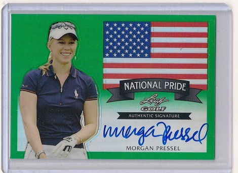Morgan Pressel 2012 Leaf Golf