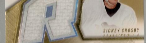 2005-06 Upper Deck Spx rookie jersey auto Sidney Crosby