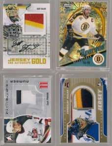 Some Between the Pipes Goodies and a super rare SP of Bourque