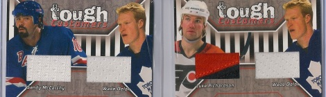 Wade Belak, Sandy McCarthy and Luke Richardson