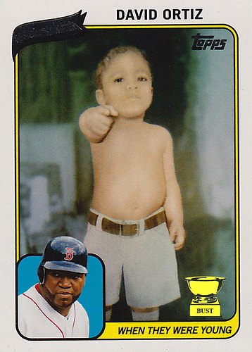 They always called him Big Papi!