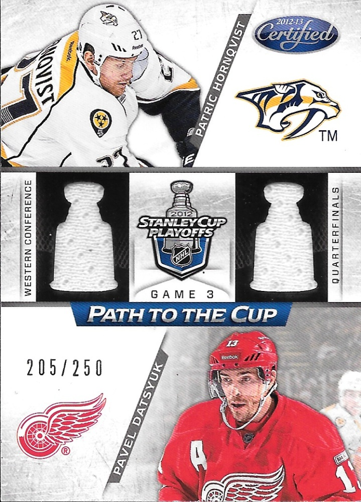 2012-13 Panini Limited Hockey Path to the Cup